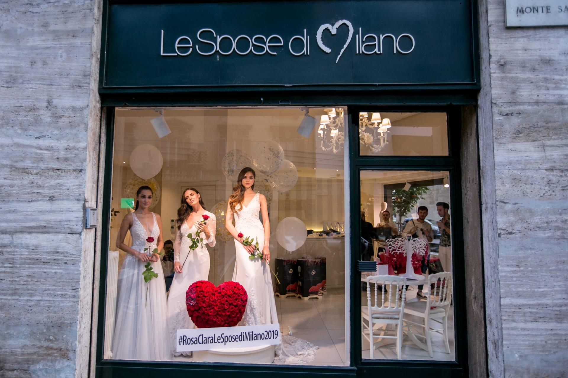 Estella Lanti Le Spose di Milano White Sposa