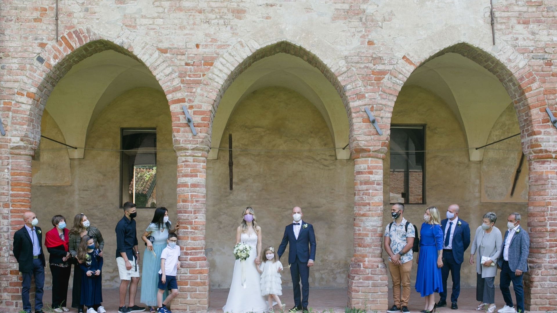 L'AMORE AL TEMPO DEL COVID 19, Matrimonio Caravaggio